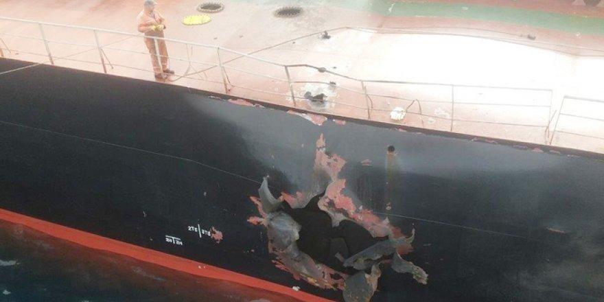 İnce Denizcilik'den füze saldırısına ilişkin açıklama