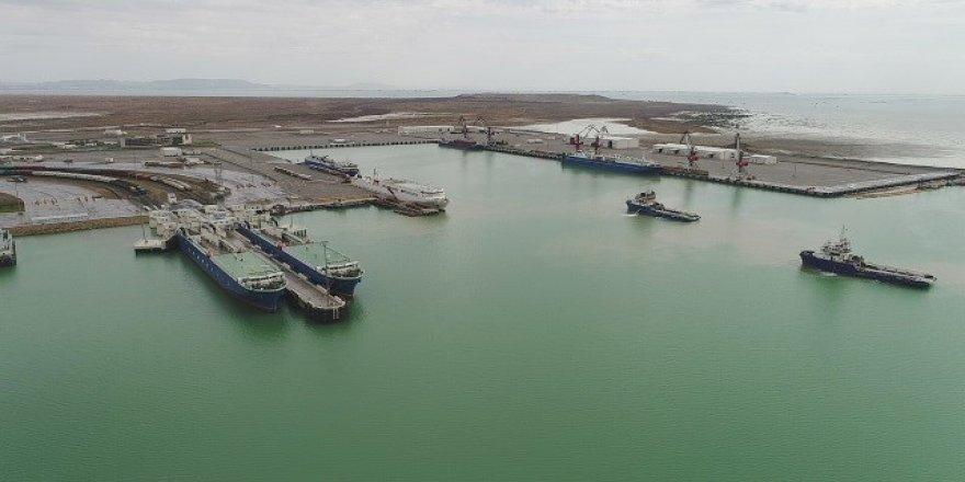 Bakü Uluslararası Deniz Ticaret Limanı genişletildi