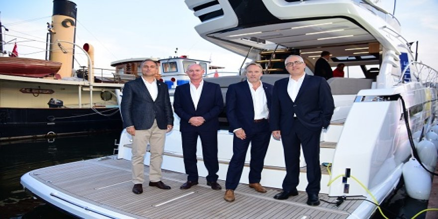 Fairline Yachts, 50. kuruluş yıl dönümü İstanbul'da kutladı