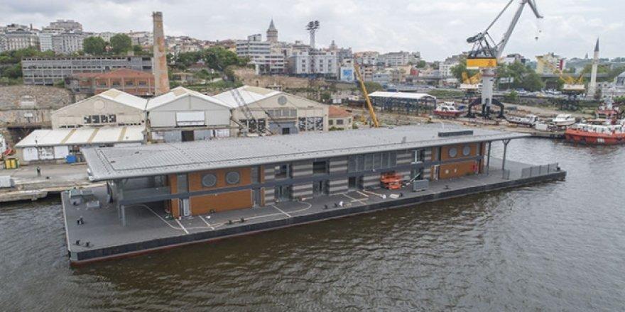 Karaköy, yeni akıllı yüzer iskelesine kavuşuyor
