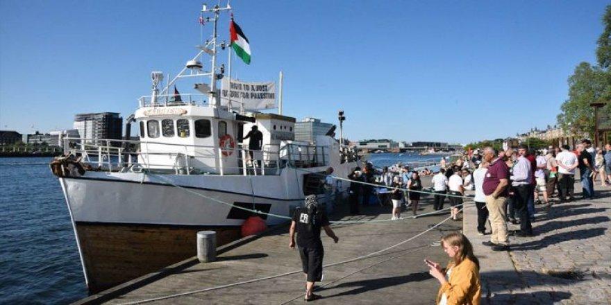 'Ship to Gaza' tekneleri Danimarka'da