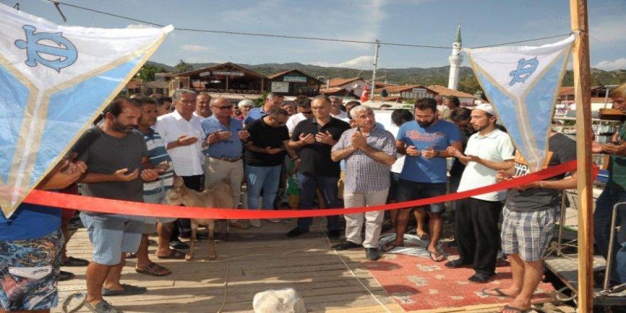 Kekova Üçağız İskelesi hizmete açıldı