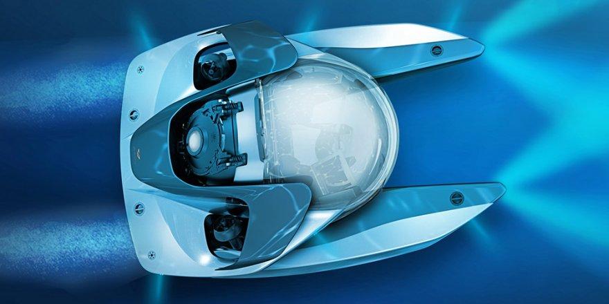 Aston Martin'den lükse yeni boyut kazandıran denizaltı