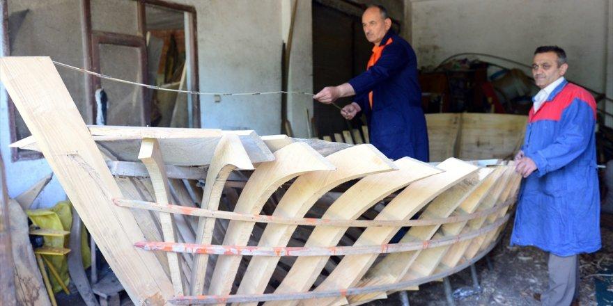 Karadeniz'in emektar tekne ustaları