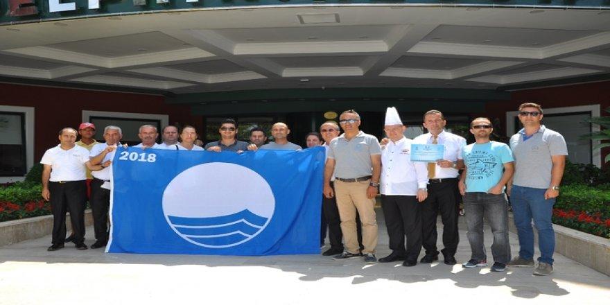 Halk plajları ve tesisler mavi bayraklarına kavuştu