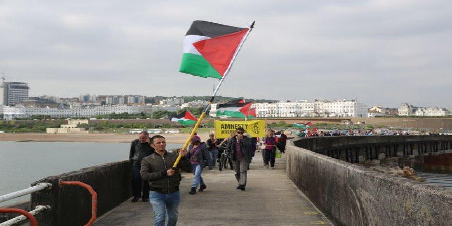 """Gazze'ye Özgürlük Filosu""""na destek"""