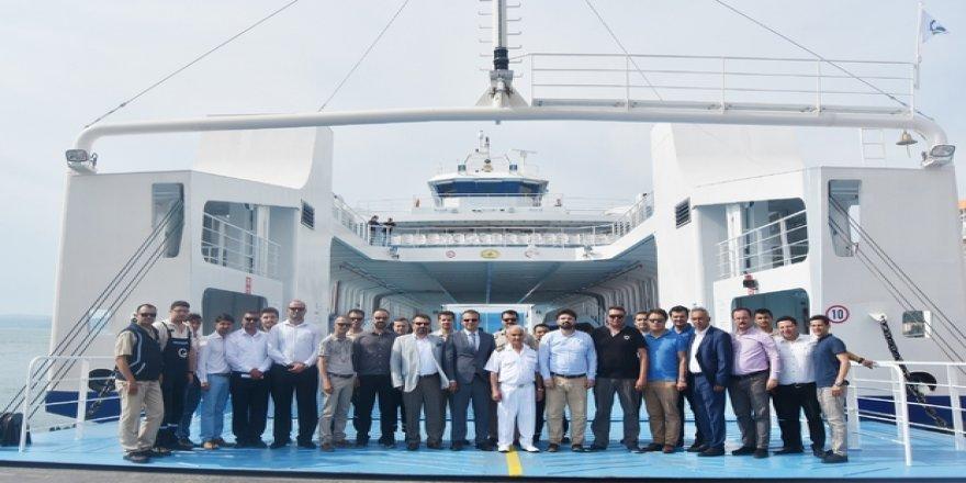 GESTAŞ'ın yeni gemisi M/F Gelibolu hizmete girdi