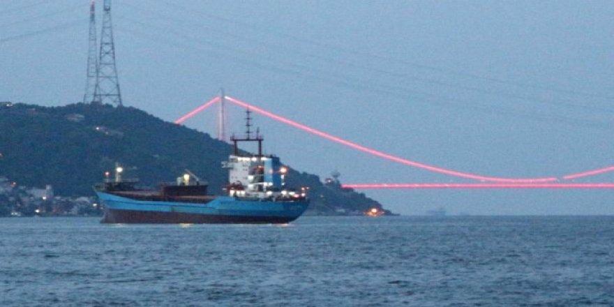 İstanbul Boğazı'nda 'Kırmızı Alarm' verildi