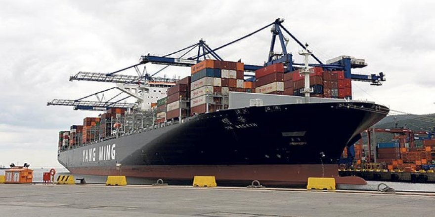 Dev gemi Evyapport'ta ağırlandı