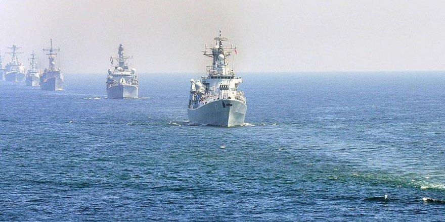 Japon Denizi'nde krizi tırmandıracak tatbikat