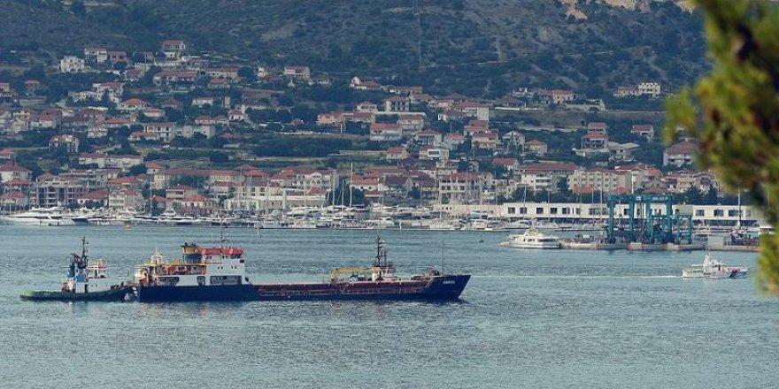 M/V Haksa Trogir Limanı'na çekildi