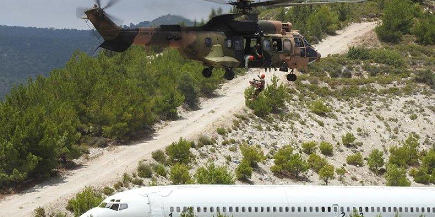 Şehit Teğmen Caner Gönyeli tatbikatında kara safhası