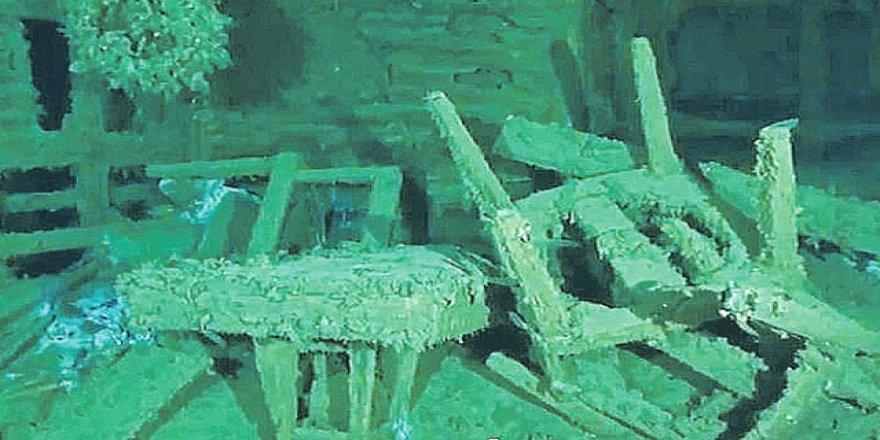 Kırım'da batık gemiden tarihi eser çıktı