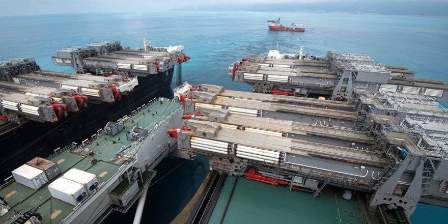 Türk Akım ikinci hattının yapımına yeniden başladı