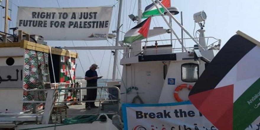 5. Özgürlük Filosu, Cadiz Limanı'na ulaştı