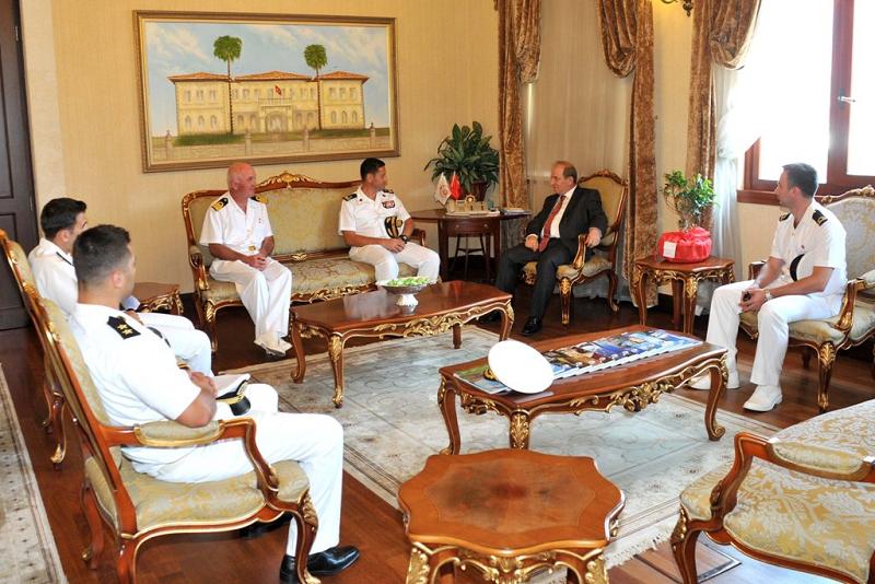 Lübnan Deniz Kuvvetleri, Antalya Limanı'nı ziyaret etti