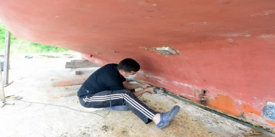 Denizin emekçileri yeni sezona hazırlanıyor