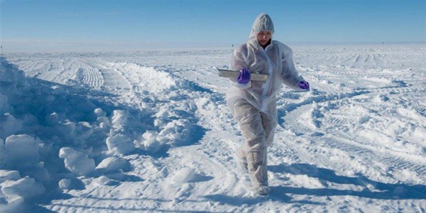 Antarktika'da sıcaklık -100 dereceye kadar düşebilir