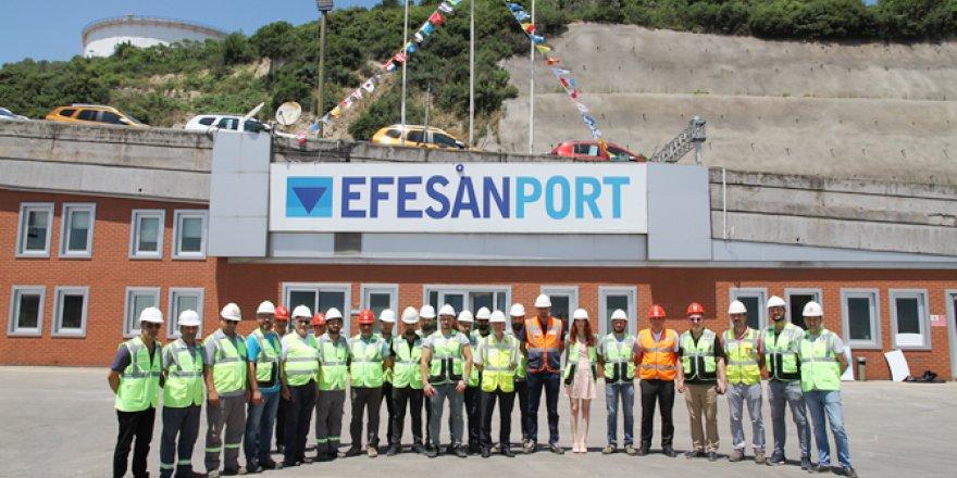 Efesanport, Kabotaj Bayramı'nı çalışanlarıyla kutladı