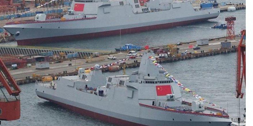 Çin Donanması ABD'yi katladı