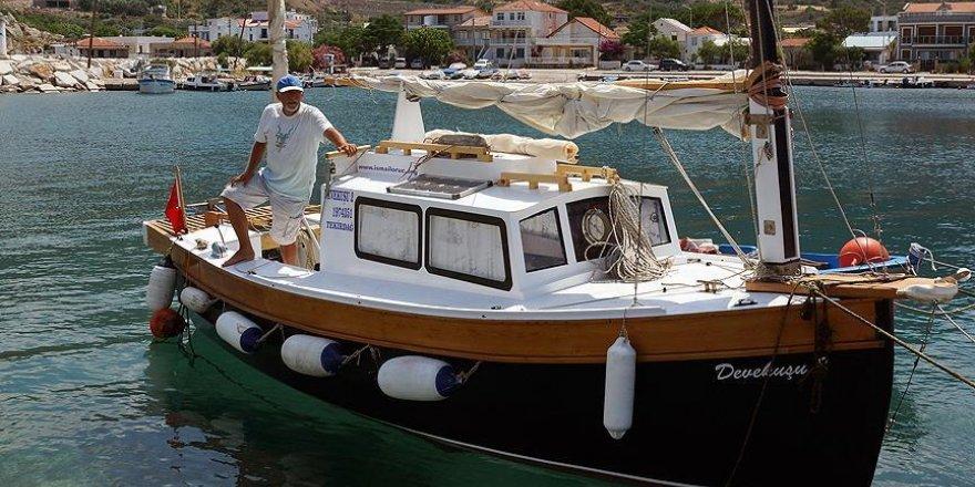 Engelli Kaptan Akdeniz turuna çıkıyor