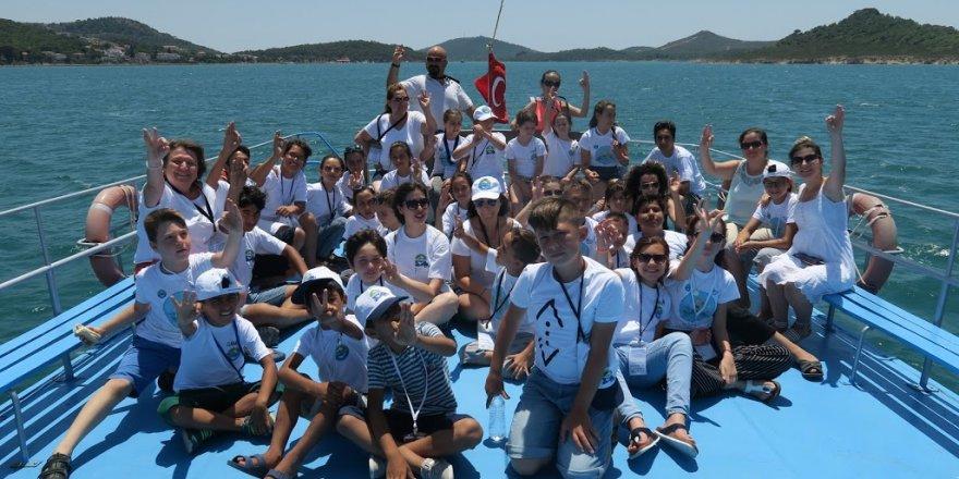 TURMEPA masmavi deniz eğitim kampı 7. yılında