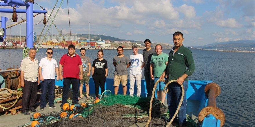 Marmara'da balık stokları araştırılıyor