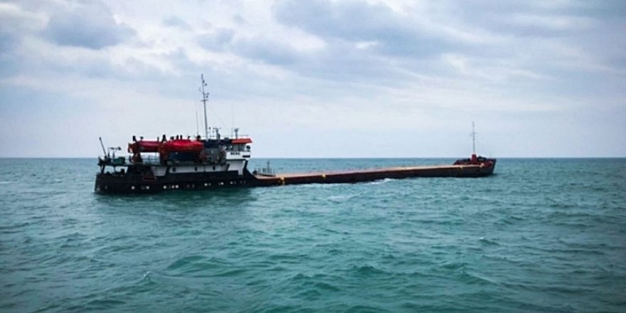 'M/V Berg' adlı gemi çürümeye terkedildi