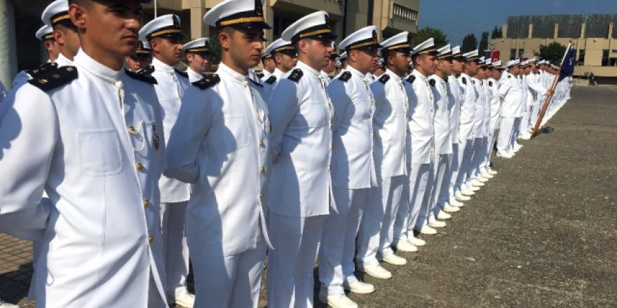 Geleceğin deniz subayları açık deniz seferinde