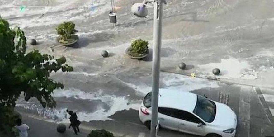 Tatil cenneti Mallorca'da tsunami şoku!