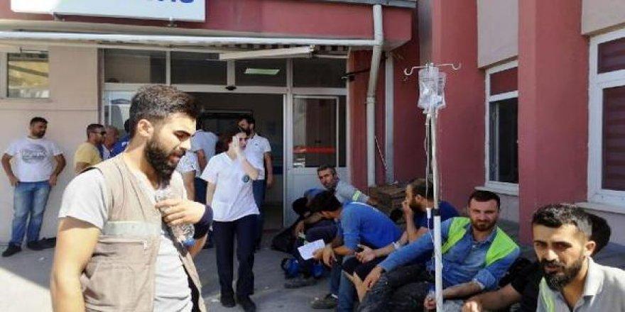 Star Rafineri'de 600 işçi yemekten zehirlendi