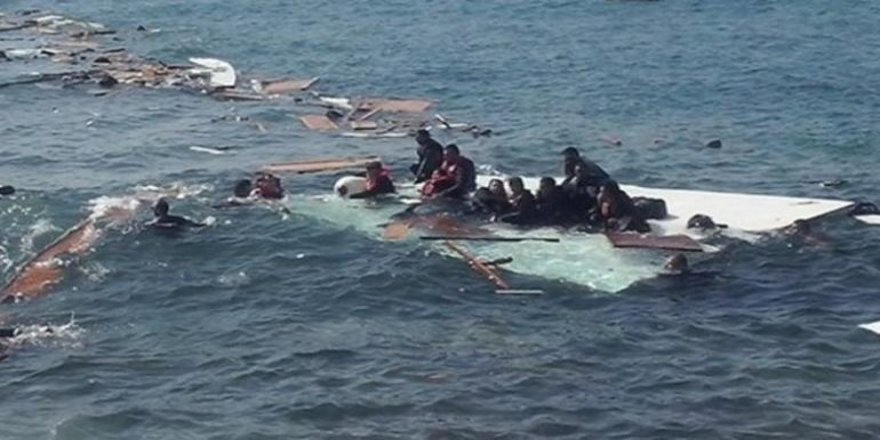 KKTC açıklarında tekne battı, ölü ve yaralılar var!
