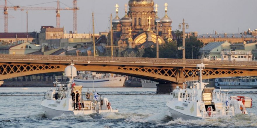Rusya Deniz Kuvvetleri Günü hazırlıkları