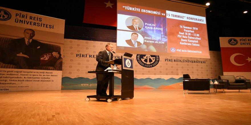 """PRÜ'de """"Türkiye Ekonomisi ve 15 Temmuz"""" konferansı"""