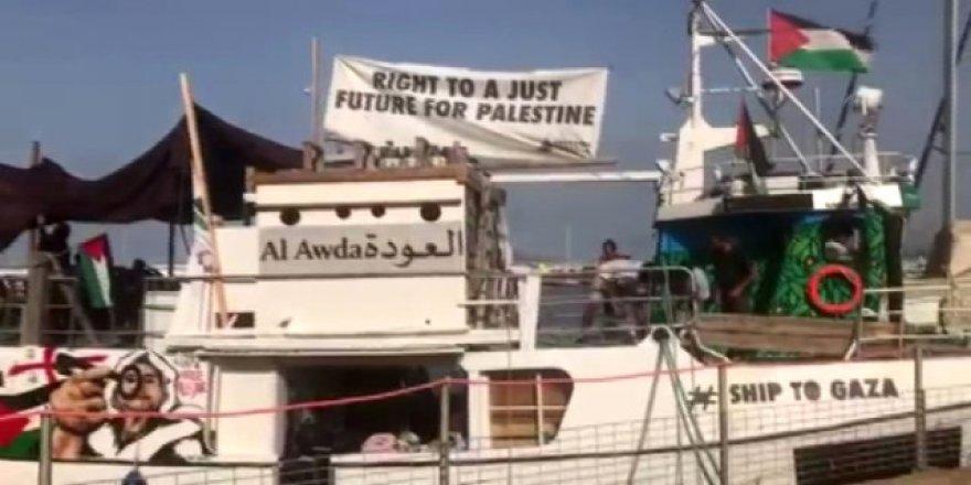 5'inci Özgürlük Filosu Gazze'ye hareket etti