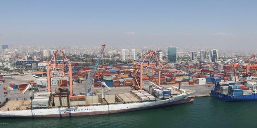 Mersin Limanı'nda yük trafiği arttı