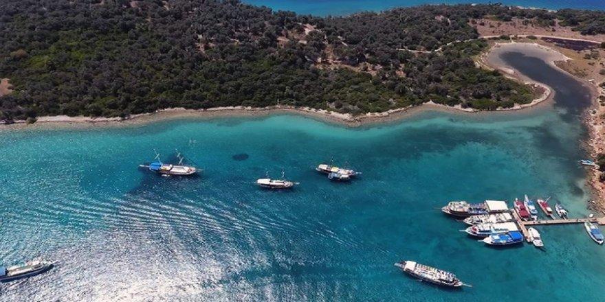 Teknelerden 3 bin ton çöp toplandı