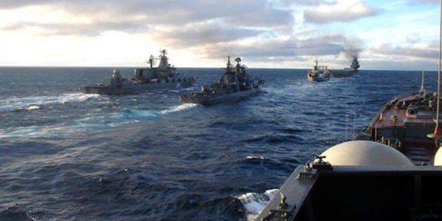 NATO görevindeki gemiler Samsun'da