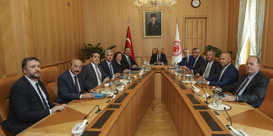 DTO Yönetimi'nden TBMM Başkanı Yıldırım'a ziyaret