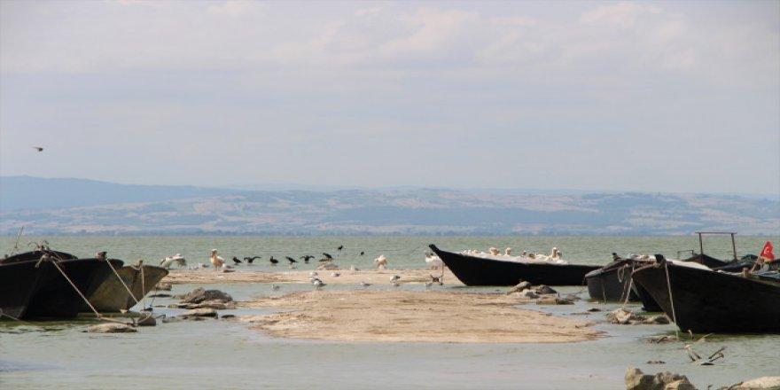 Manyas Gölü'nde balıkçılar sıkıntılı