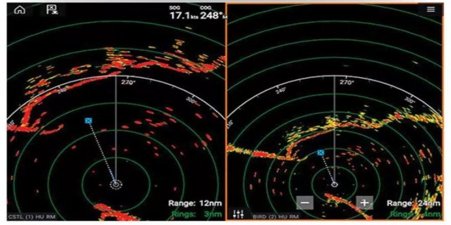 Raymarine'den yeni yüksek performanslı radar