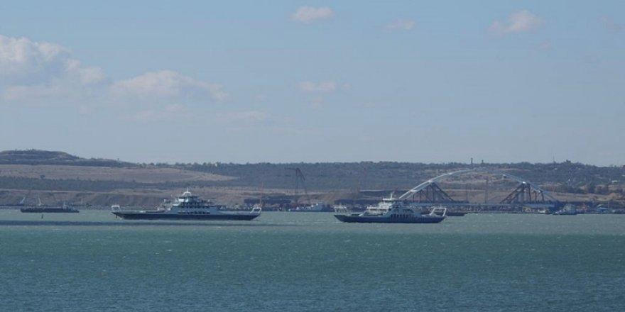 14 ayda Kırım'a 1207 gemi yasa dışı girdi