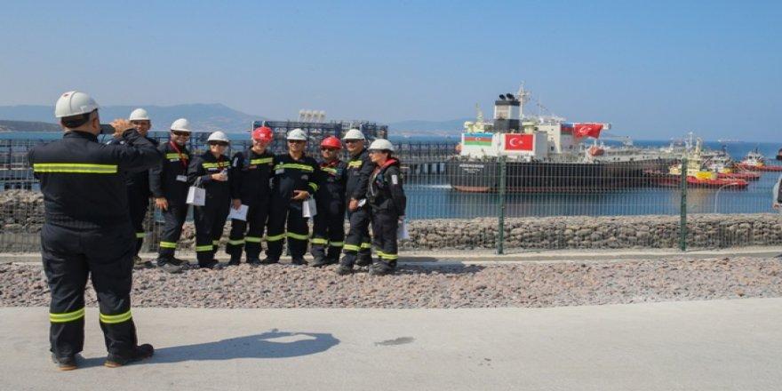 Star Rafineri'ye ilk ham petrol gemisi geldi