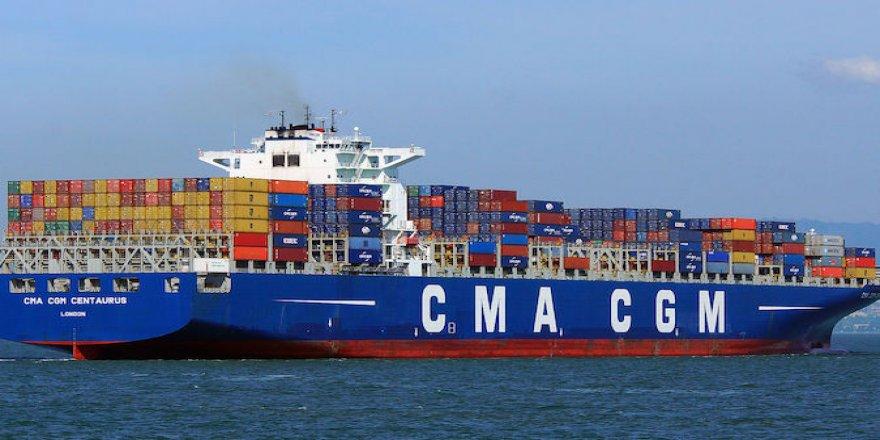 CMA CGM, Çin'e 10 konteyner gemisi sipariş etti