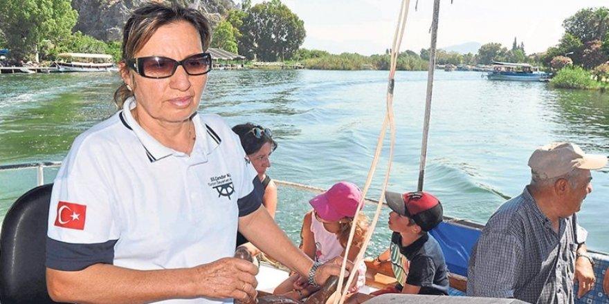 Dalyan'ın kadın kaptanları