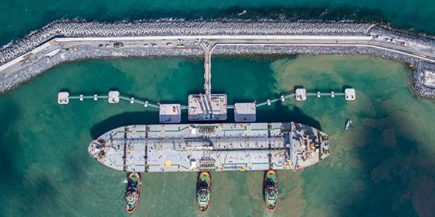 İGA Yakıt İkmal Limanı'nda ilk yakıt sevkiyatı