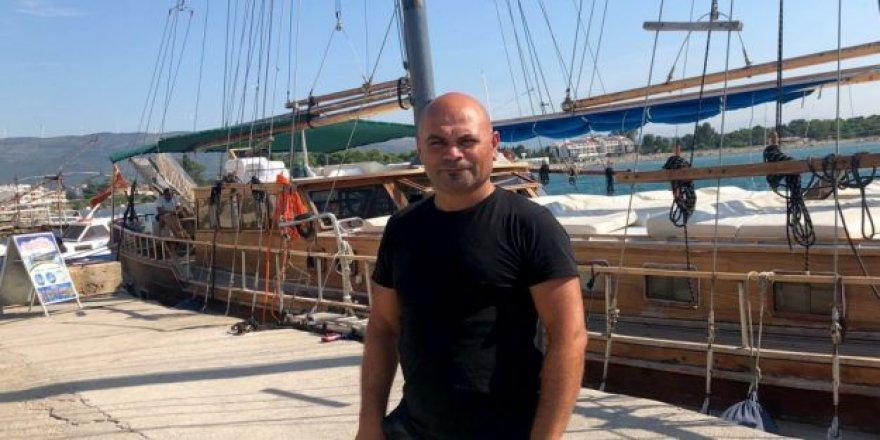 Türk girişimciden Karadağ'da tekne turu