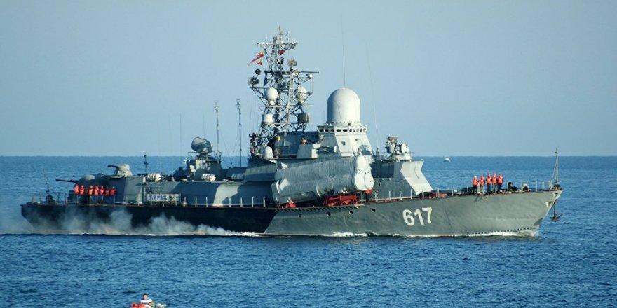 Amiral Grigoroviç fırkateyninden Karadeniz'de bir ilk