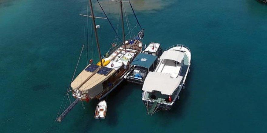 Muğla'da 191 tekneden tonlarca atık toplandı!