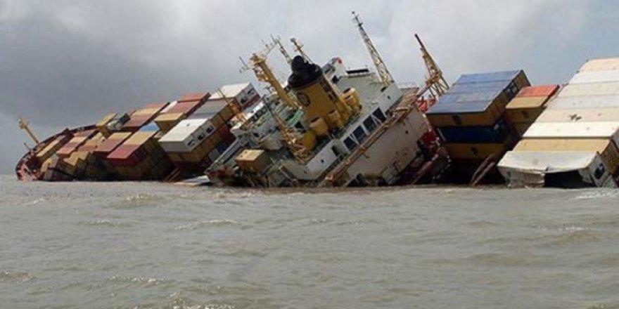 Kargo gemisi alabora oldu: 7 ölü